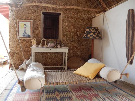Lamu House Hotel : Another secluded nook for quiet, relaxing time