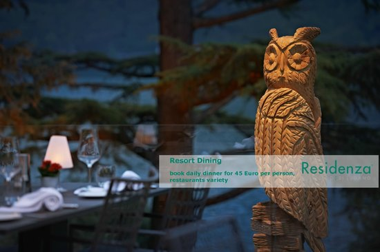 Residenza Lago di Lugano: Resort Dining