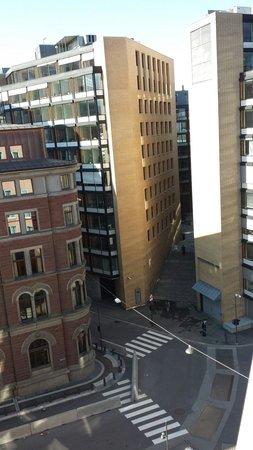 Thon Hotel Munch: Utsikt fra rom 806