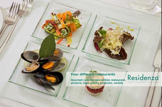 Residenza Lago di Lugano: Restaurants