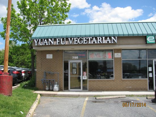 Yuan Fu Vegetarian: A casual Mom and Pop atmosphere.