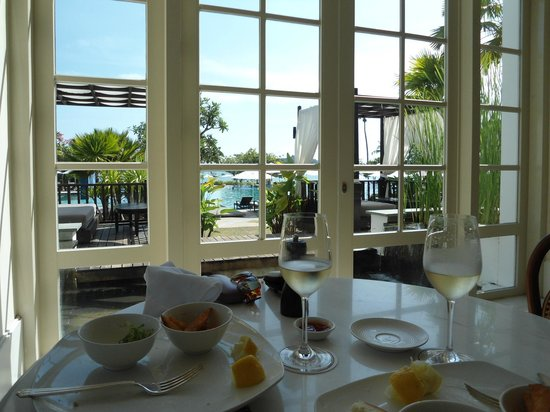 The Danna Langkawi, Malaysia: Lunch in the cafe