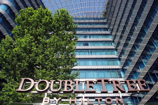DoubleTree by Hilton Istanbul - Moda: Repräsentativer Hoteleingang