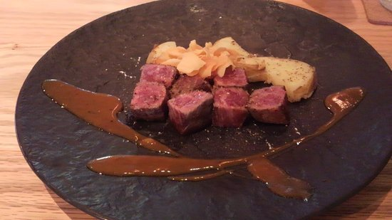 Itoh Dining by NOBU: コース一例