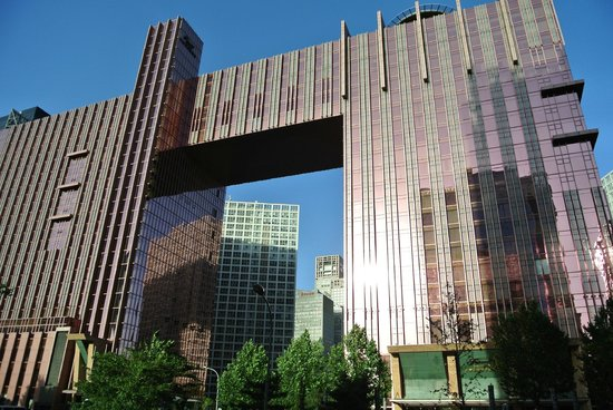 Fairmont Beijing: Hotel von Aussen