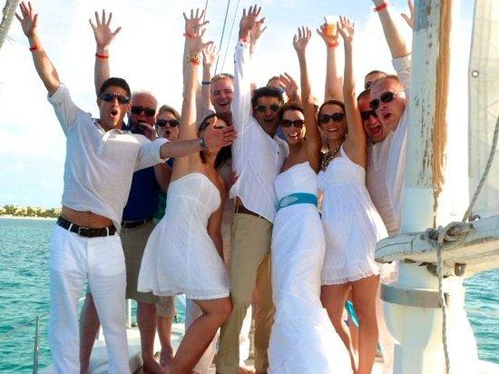 Sun Charters : The wedding entourage