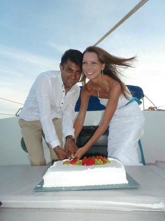 Sun Charters : Cake ceremony