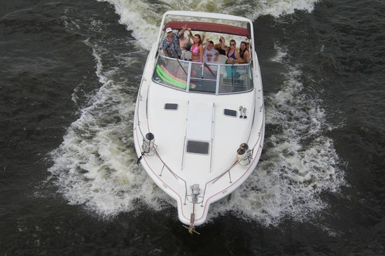 AAA Party Cove Watercraft Rentals: Cruisin Party Cove with Captain Mark our cruiser comes with a USCG Captain & more