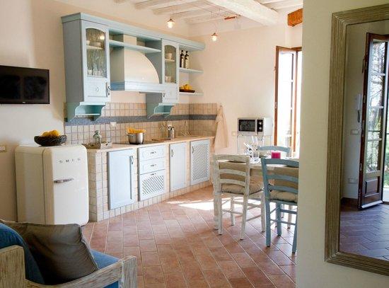 Cucina soggiorno foto di il bottaccio casa di campagna venturina terme tripadvisor - Cucina di campagna ...