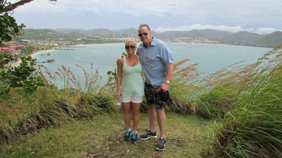 Sandals Grande St. Lucian Spa & Beach Resort: it is windy on pigeon Island make sure you wear sneakers not flip-flops
