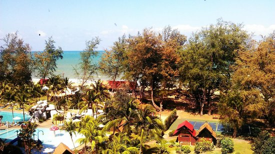 Kijal, Malaysia: View from Room