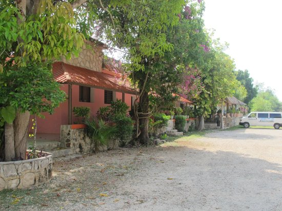 Hotel Dolores Alba Chichen: Chegando ao Dolores Alba