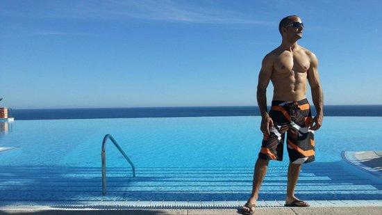 Vistas impresionantes desde la piscina fotograf a de playacalida spa hotel almu car tripadvisor - Piscina el guerra granada precios 2017 ...