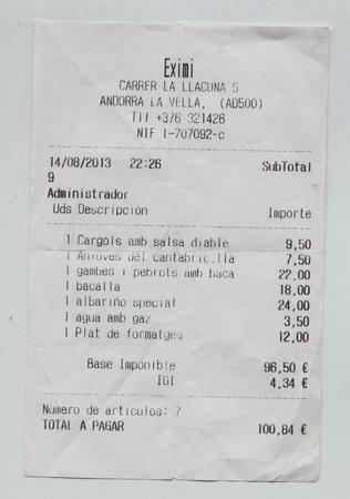"""Eximi: """"Albariño Special €24"""", vino che la proprietaria nega di avere contestando la mia recensione.."""