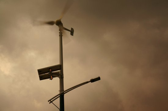 Waterwoods Lodge Kabini: wind power