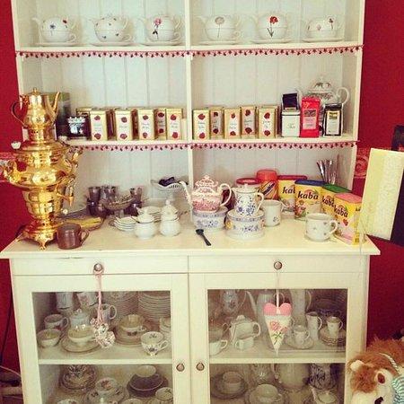 Landhotel Guglhupf: чайный уголок