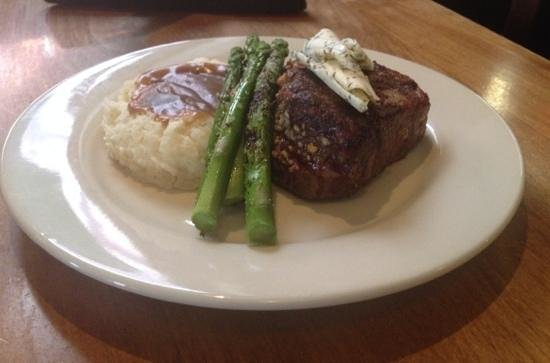 The Celtic Fringe: Blue Cheese stuff Filet