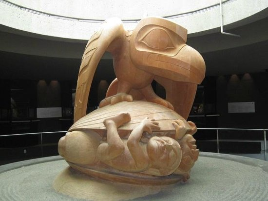 Museum of Anthropology: Bill Reid's magnificent sculpture of the Haida creation myth