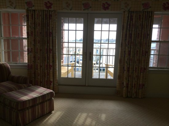 Inn at Stonington : Room 19 - Balcony doors