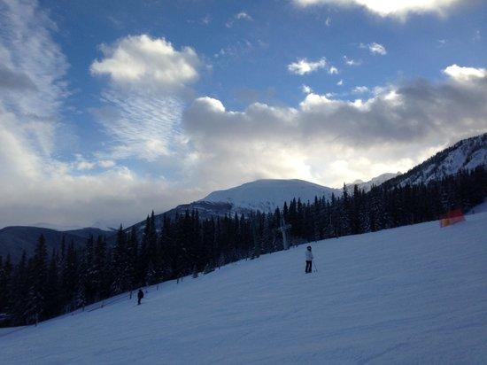 Marmot Basin Ski Area: Down the hill