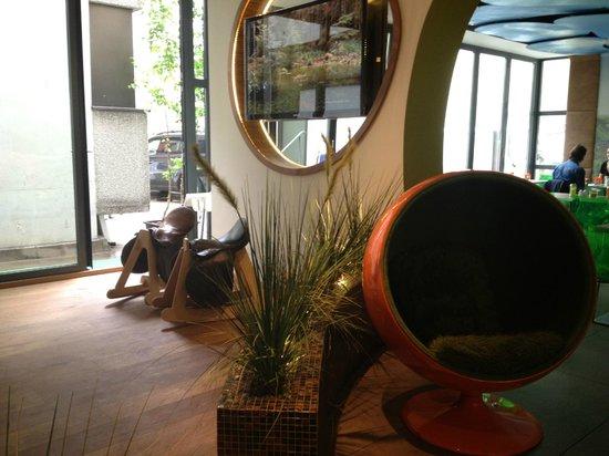 Hotel Cocoon Stachus: Лобби