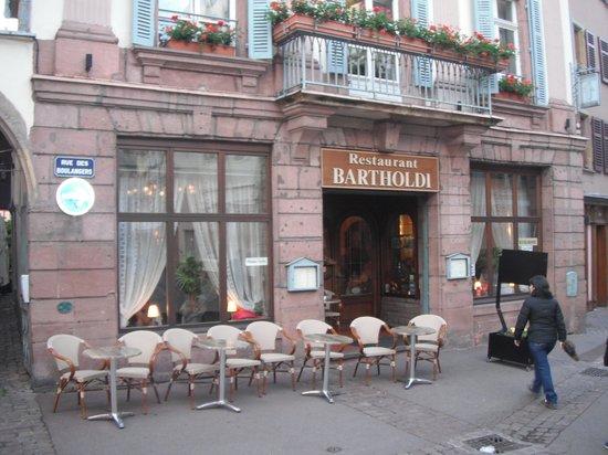 Restaurant Bartholdi : Closer view