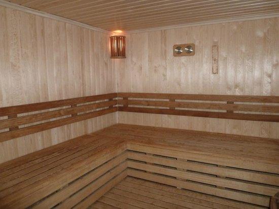 Hilton Sofia : Newly enhanced sauna
