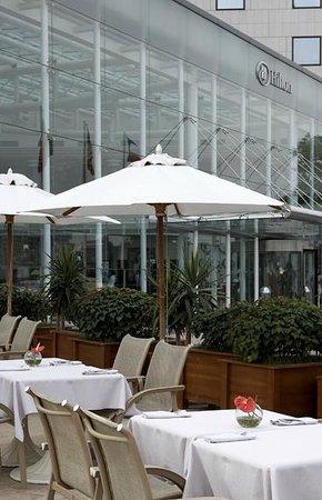 Hilton Sofia : Sumemr terrace