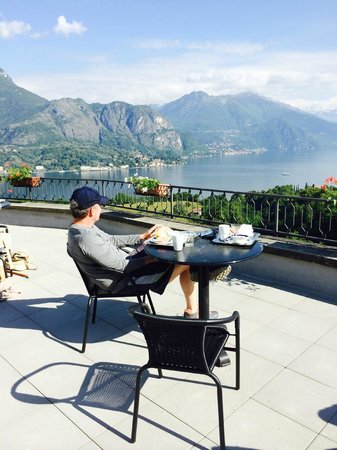 Hotel Il Perlo Panorama: Breakfast view