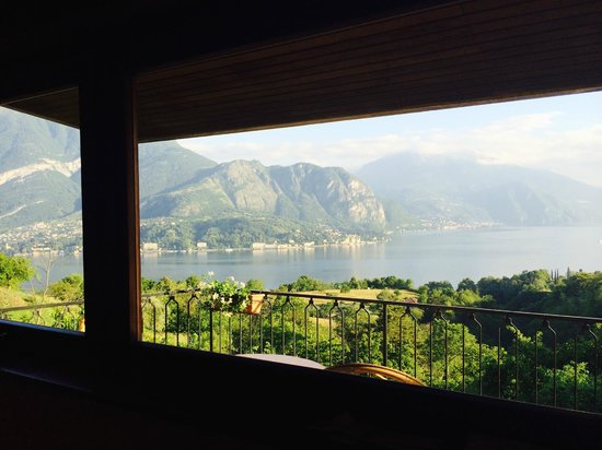 Hotel Il Perlo Panorama: View from inside our hotel bedroom