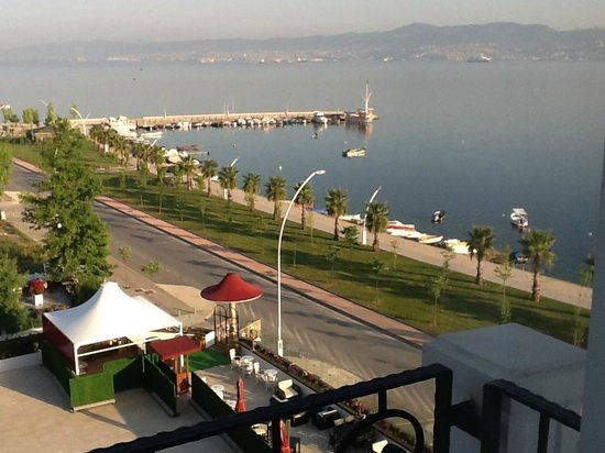 Wellborn Luxury Hotel: View from the bedroom