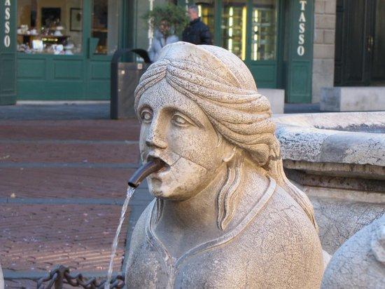 Fontana Contarini : sfinge