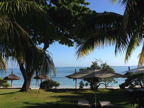Le Cardinal Exclusive Resort: vue de notre chambre
