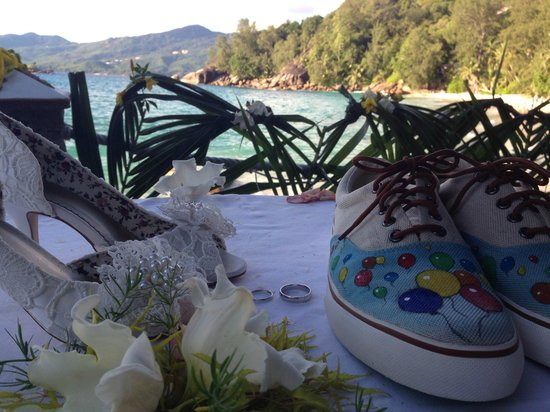 Anse Soleil Beachcomber : Wedding venue