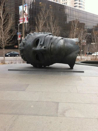City Garden: Head on ground