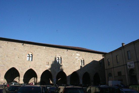 Cittadella di Bergamo: cortile