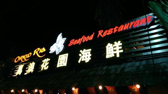 Orkid Ria Seafood Restaurant: Orkid Ria