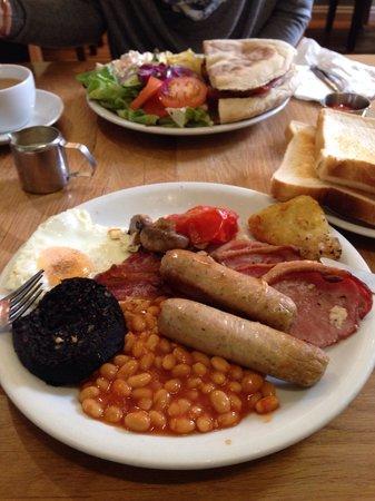 Treats Tea Room: All day breakfast and bacon sandwich