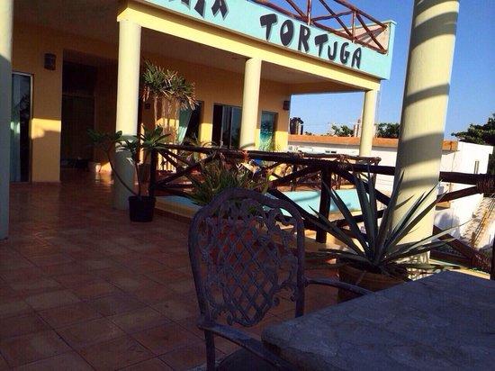 Bahia Tortuga: Loved the upstairs patio