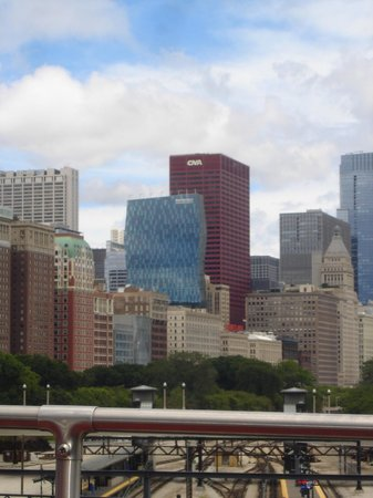 Chicago's First Lady Cruises: another great view of the buildings in Chicago