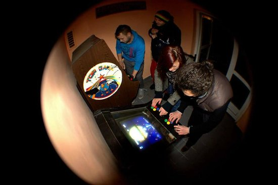 The Secret Hotel : Old Skool Gaming Facility