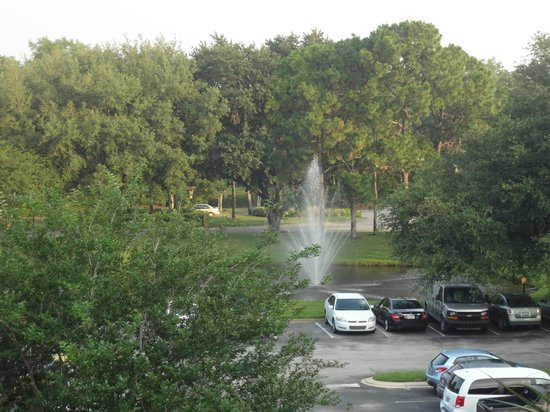 Clarion Inn Lake Buena Vista: Área verde