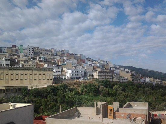 Diyar Timnay: vue de notre chambre