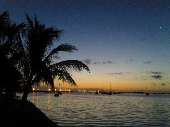 Boyd's Key West Campground: Our view of the sunset from our campsite #123