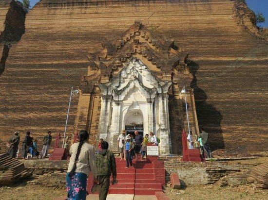 Mingun Paya: l'entrata della Mingun