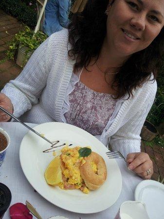 Rosehurst: salmon breakfast
