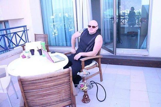 C Hotel Eilat Hotel: балкон