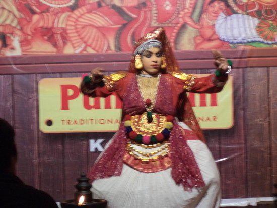 Misty Mountain Resort: Kathakali dance show