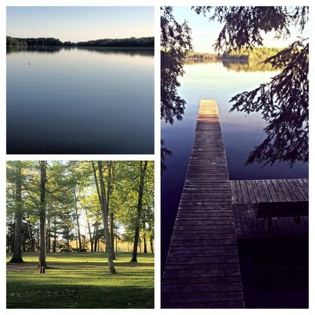 Dillman's Bay Resort: White Sand Lake