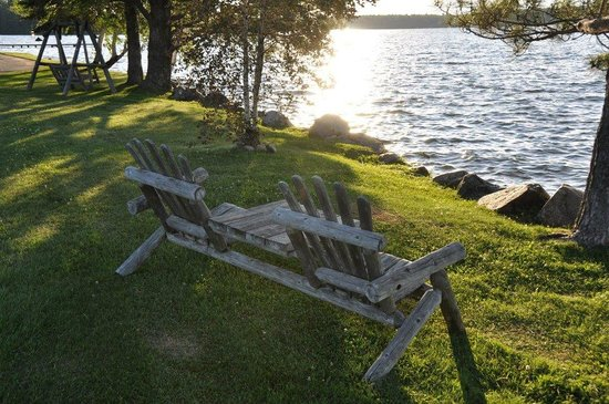 Dillman's Bay Resort: Sunset watching